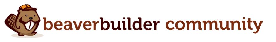 Beaver Builder Community Forum